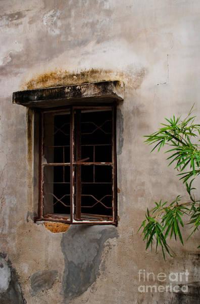 Timeworn Photograph - Window On Canvas by Venetta Archer