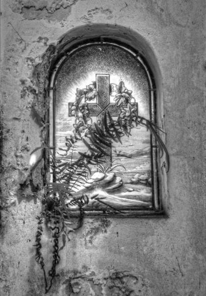 Photograph - Window On The Crypt by Michael Hope