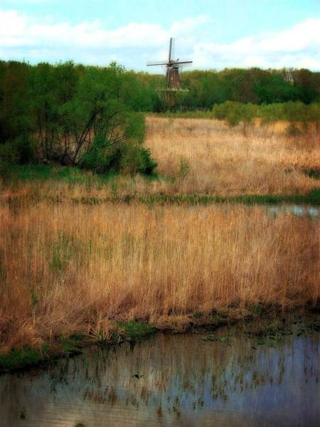 Photograph - Window On The Waterfront Dezwaan Windmill by Michelle Calkins