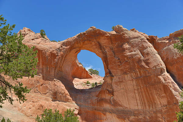 Wall Art - Photograph - Window Rock In Window Rock Az by Christine Till