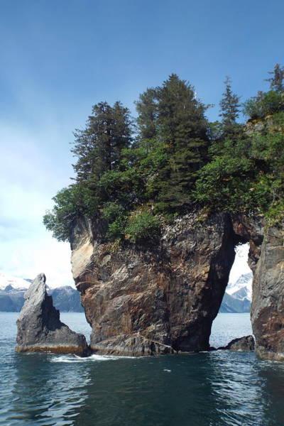 Photograph - Window Rock by Barbara Von Pagel