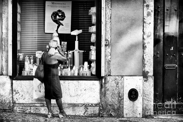 Wall Art - Photograph - Window Shopping In Lisbon by John Rizzuto