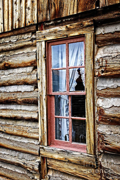 Photograph - Window To Abandoned by Lincoln Rogers