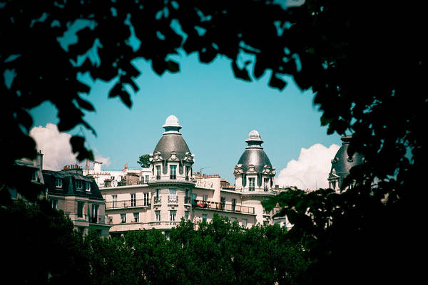 Photograph - Window To Paris by Raimond Klavins