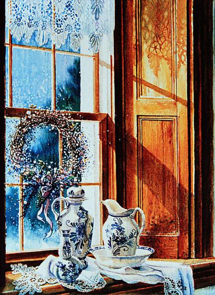 Sill Wall Art - Painting - Window Treasures by Hanne Lore Koehler