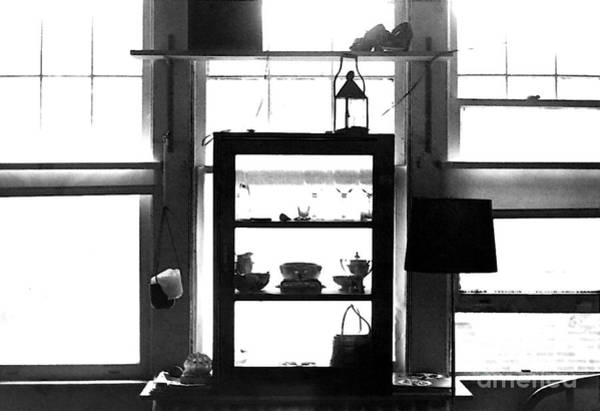 Photograph - Window Treatment 1977 by Walter Neal
