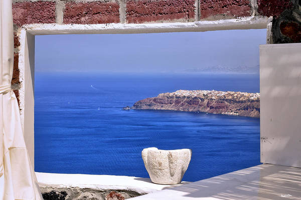 Wall Art - Photograph - Window View To The Mediterranean I by Madeline Ellis