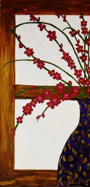 Framing Painting - Window With A View by Celeste Manning