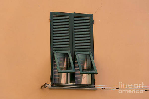 Sestri Levante Photograph - Window With Shutter by Mats Silvan