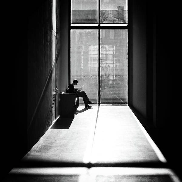 Concentration Wall Art - Photograph - Windowlight by Michael M.