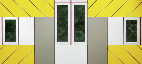 Cube House Wall Art - Photograph - Windows by Lus Joosten