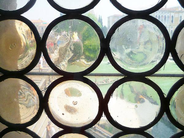 Photograph - Windows Of Venice View From Academy Of Art by Irina Sztukowski
