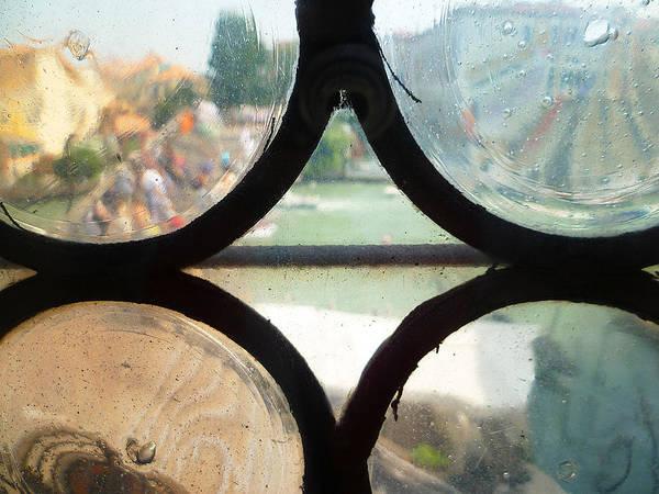 Photograph - Windows Of Venice View From Art Academy by Irina Sztukowski