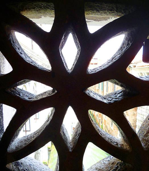 Photograph - Windows Of Venice View From Doge Palace by Irina Sztukowski