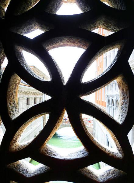 Photograph - Windows Of Venice View From Palazzo Ducale by Irina Sztukowski