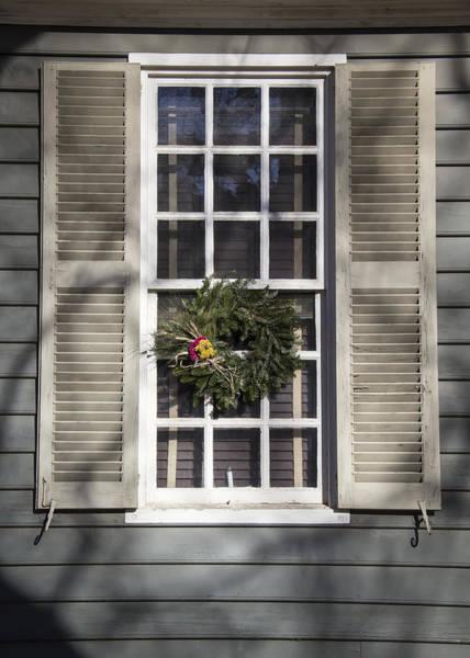 Royal Colony Photograph - Windows Of Williamsburg 01 by Teresa Mucha