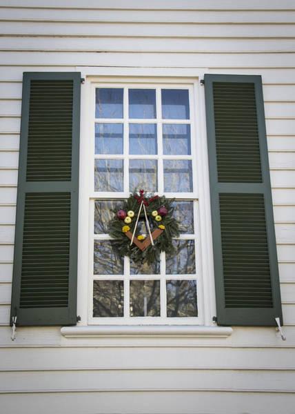 Royal Colony Photograph - Windows Of Williamsburg 03 by Teresa Mucha