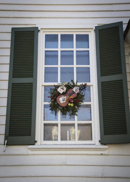 Royal Colony Photograph - Windows Of Williamsburg 05 by Teresa Mucha