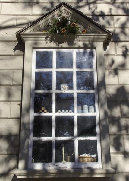Royal Colony Photograph - Windows Of Williamsburg 07 by Teresa Mucha