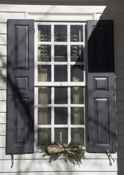 Royal Colony Photograph - Windows Of Williamsburg 10 by Teresa Mucha