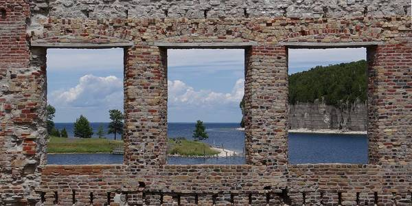 Photograph - Windows On Snail Shell Harbor by Keith Stokes