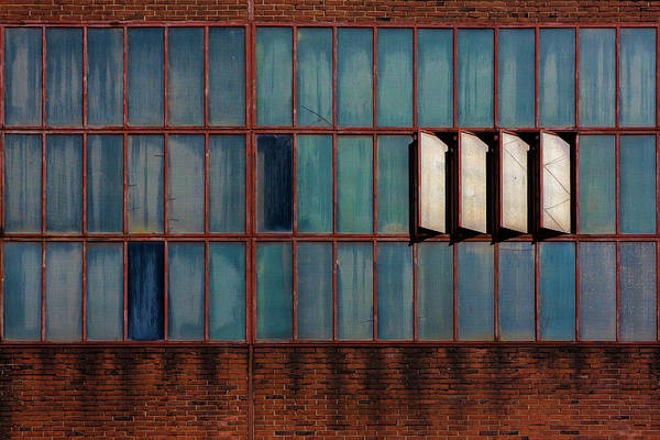 Dirty Photograph - Windows by Rolf Endermann