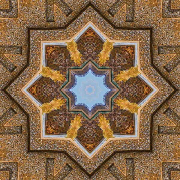 Photograph - Windows To Autumn Mandala 3 by Beth Sawickie