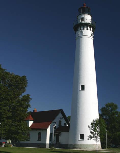 Photograph - Windpoint Lighthouse by Ricky L Jones