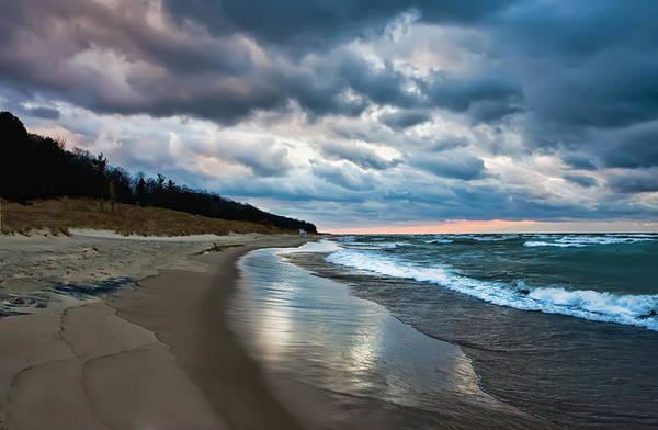 Photograph - Winds Of Oval Beach Saugatuck Michigan by Evie Carrier