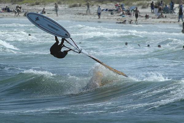 Photograph - Windsurf Flip by Bradford Martin