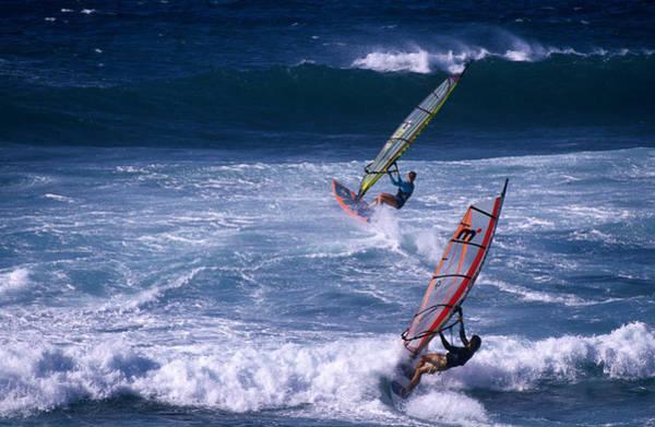 Wind Surfing Photograph - Windsurfing The Tradewinds by Karl Lehmann