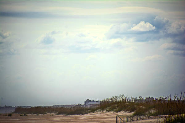Photograph - Windswept Beach by Judy Hall-Folde