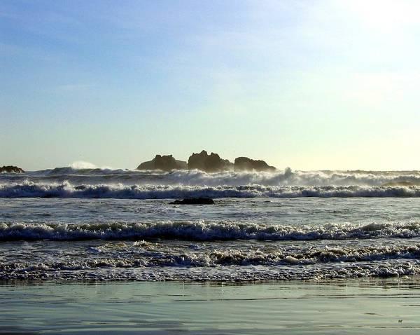 Whitecaps Photograph - Windswept Coast by Will Borden