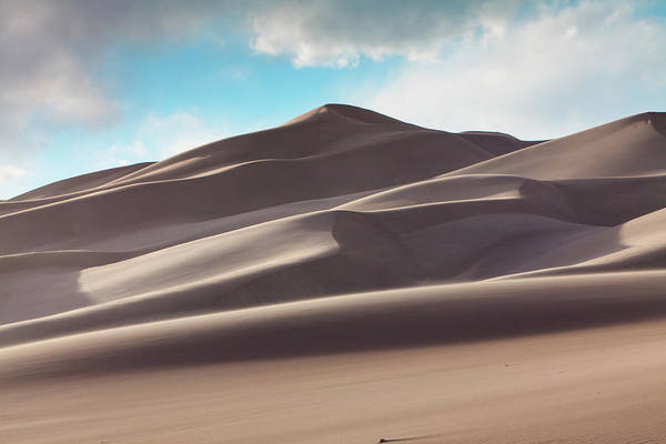 Great Sand Dunes National Park Photograph - Windswept Dunes by Hansrico Photography