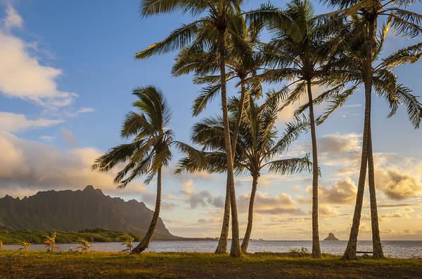Mokolii Photograph - Windward Oahu Sunrise by Greg Vaughn