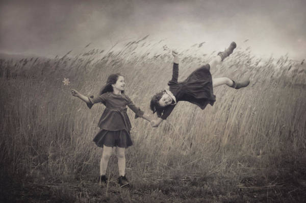 Wind Wall Art - Photograph - Windy Fairy Tales by Svetlana Bekyarova