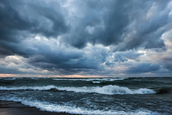 Photograph - Windy Shore Saugatuck Michigan by Evie Carrier