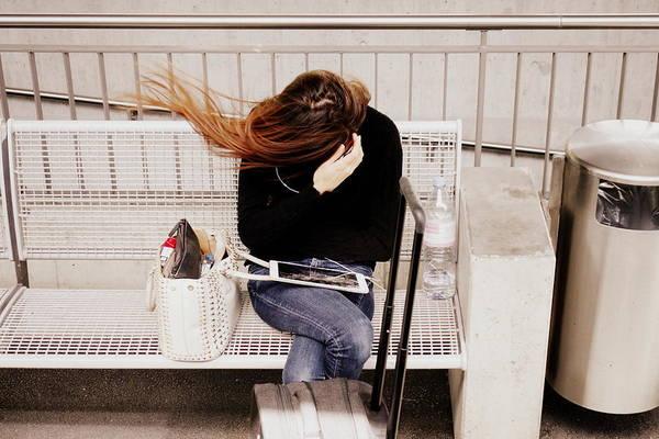 Wall Art - Photograph - Windy Wait by Valentino Visentini