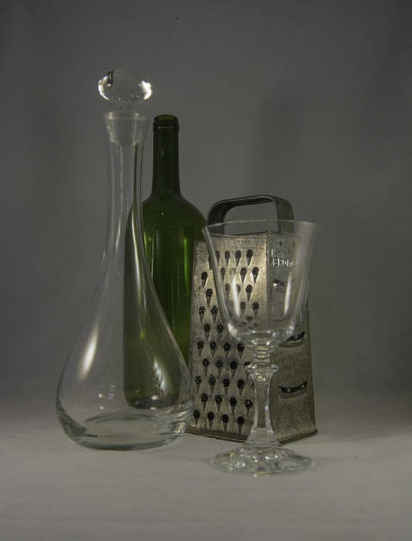 Photograph - Wine And Cheese Stuff by Judy Hall-Folde