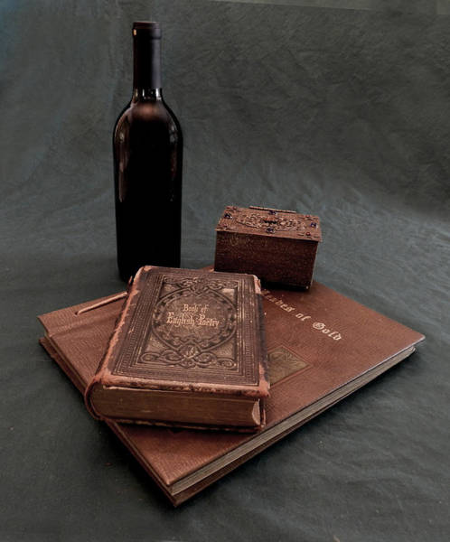 Photograph - Wine And Poetry by Grace Dillon