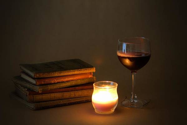 Photograph - Wine And Wonder B by Gordon Elwell