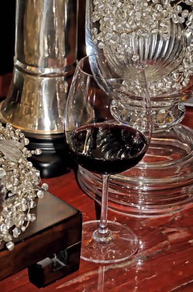 Photograph - Wine by Bill Dodsworth
