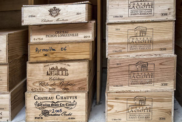 Photograph - Wine Boxes by Georgia Fowler