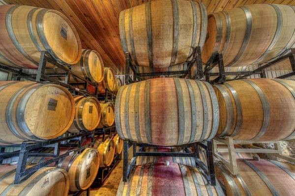 Photograph - Wine Cask Room  by David Morefield