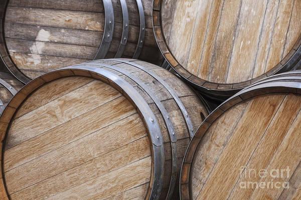 Photograph - Wine Casks by Bryan Mullennix