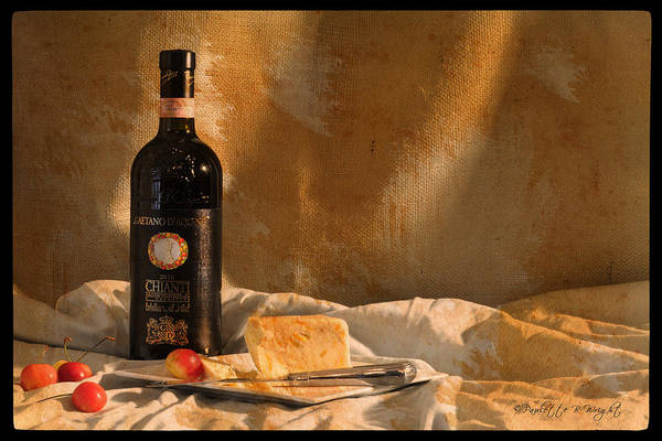Photograph - Wine Cherries And Cheese by Paulette B Wright