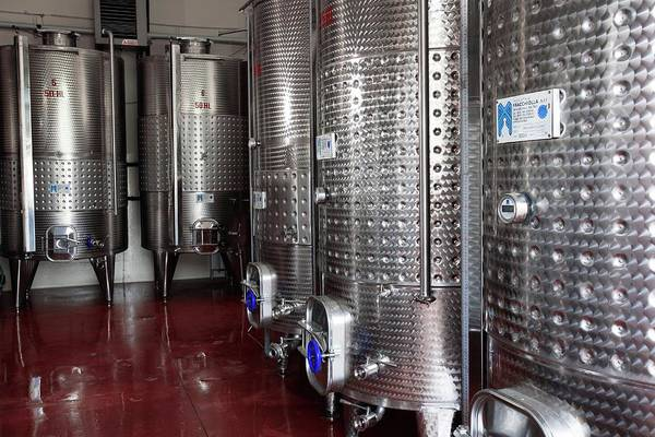 Italian Wine Photograph - Wine Fermentation Vats by Mauro Fermariello/science Photo Library