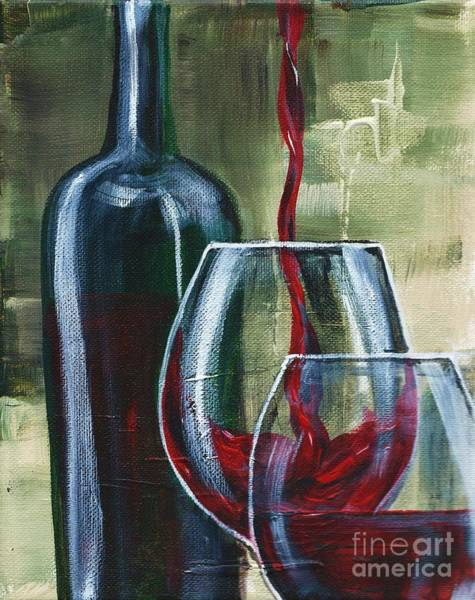 Painting - Wine For Two by Lisa Owen-Lynch