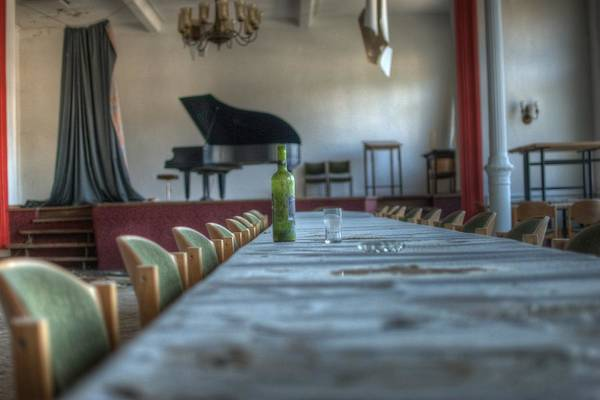 Grand Piano Digital Art - Wine Table by Nathan Wright