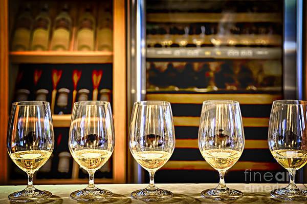 Photograph - Wine Tasting  by Elena Elisseeva